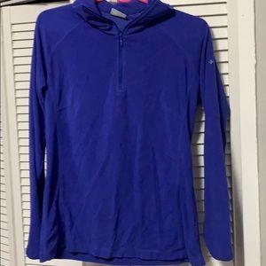 Columbia zip up sweatshirt medium